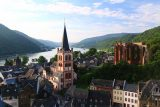 Bacharach_291_06162018 - Another classic view of Bacharach and the Rhine River from around the Sentry Tower's base
