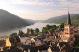 Bacharach_306_06162018 - Looking over Bacharach and the Rhine from the ruins of Spitzer Turm