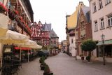 Bacharach_381_06162018 - Looking back at the attractive center of Bacharach without all the people that will inevitably be here later in the day