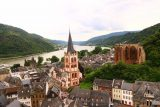 Bacharach_427_06172018 - Back at the Sentry Tower with a nice view over Bacharach and the Rhine River