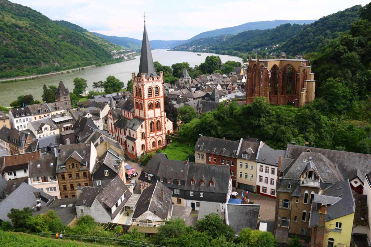 We used Booking.com to find a place within this charming German town along the Rhine called Bacharach
