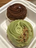 Back_to_Eden_Bakery_003_iPhone_08182017 - Other cupcakes that Julie got from the Back to Eden Bakery. One was chocolate while the other was macha tea