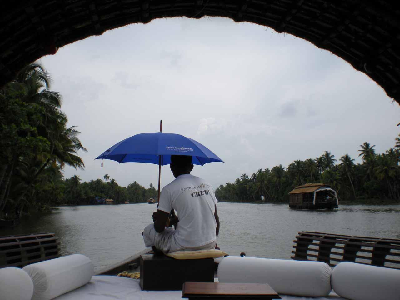 Our boat navigator