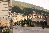 Bad_Gastein_011_07022018 - Looking back across the heart of the Bad Gastein town in a pretty quiet morning