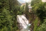 Bad_Gastein_085_07022018 - View of the Upper Bad Gastein Waterfall from the upper bridge over the Gasteiner Ache