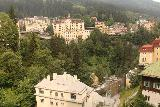 Bad_Gastein_107_07022018 - Looking over the Gasteiner Ache surrounded by the Belle Epoque buildings of the town of Bad Gastein while walking along the Bismarckstrasse en route to the Lower Bad Gastein Waterfall