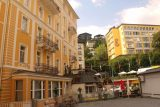 Bad_Gastein_159_07022018 - Walking amongst the Bell Epoque buildings that seemed to give Bad Gastein a certain historical character to it in addition to its waterfall