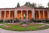 Baden_Baden_082_06222018 - Frontal view of the attractive Trinkhaller in Baden-Baden