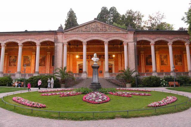 Baden_Baden_082_06222018 - Some of the Roman architecture near the Kurhaus Casino in Baden Baden