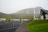 Baejarfoss_020_08172021 - Looking up at the context of the church of Ólafsvík and Bæjarfoss as seen during our August 2021 visit