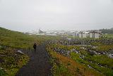 Baejarfoss_055_08172021 - After having our fill of Bæjarfoss during our August 2021 visit, Mom was making her way back down to Ólafsvík, but you can see the weather was really deteriorating by this time