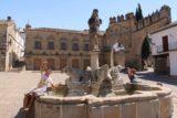 Baeza_012_05302015 - The lion fountain at the Plaza de Populo