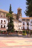 Baeza_101_05302015 - Looking across Paseo de la Constitucion towards a tower that I think belongs to the Antigua Universidad