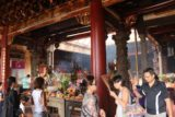 Ban_Tian_Yan_021_10302016 - Inside the busy worshipping area of the main chamber of the Ban Tian Yan Temple east of Chiayi