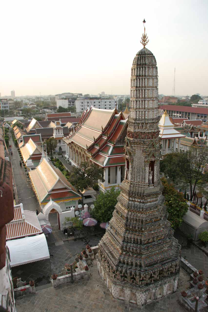 More views from high up on Wat Arun