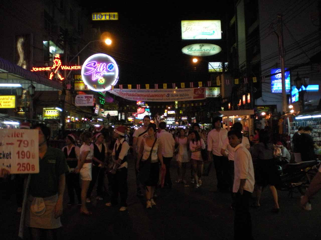 The bustling Khao San Road