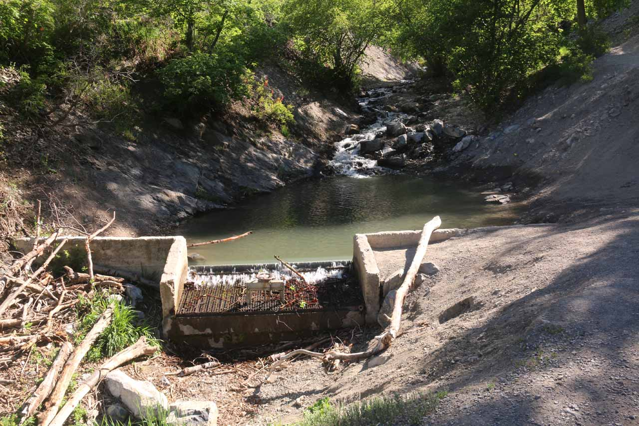 This was the contraption that was responsible for Battle Creek being dry further downstream