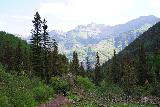 Bear_Creek_Falls_086_07232020 - Looking back at more hikers making their way back from Bear Creek Falls and returning to Telluride