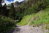Bear_Creek_Falls_102_07232020 - Approaching the signed trail junction with the Wasatch Trail on the way up to Bear Creek Falls