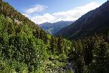 Bear_Creek_Falls_113_07232020 - Looking downstream from the squarish boulder along Bear Creek Canyon in the direction of Telluride