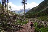 Bear_Creek_Falls_230_07232020 - Hiking back through the avalanche zone on the way back to Telluride after having had my fill of Bear Creek Falls
