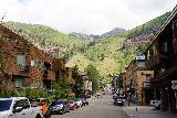 Bear_Creek_Falls_272_07232020 - Continuing to walk back along South Pine Street in Telluride as activity was picking up in town