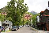 Bear_Creek_Falls_284_07232020 - Looking up South Aspen Street as I was heading back up towards The Victorian Inn to end my Bear Creek Falls hike and rejoin Julie and Tahia who got to sleep in