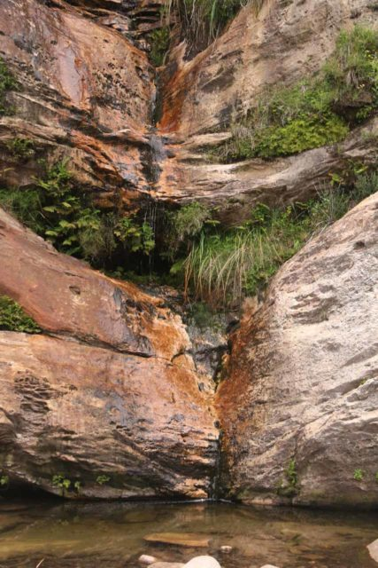 Beehive_Falls_050_11142017 - Beehive Falls and its hardly-flowing state when I first saw it on my November 2017 visit the day before a rain storm