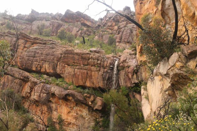 Beehive_Falls_135_11152017 - Beehive Falls with interesting cliff formations above it