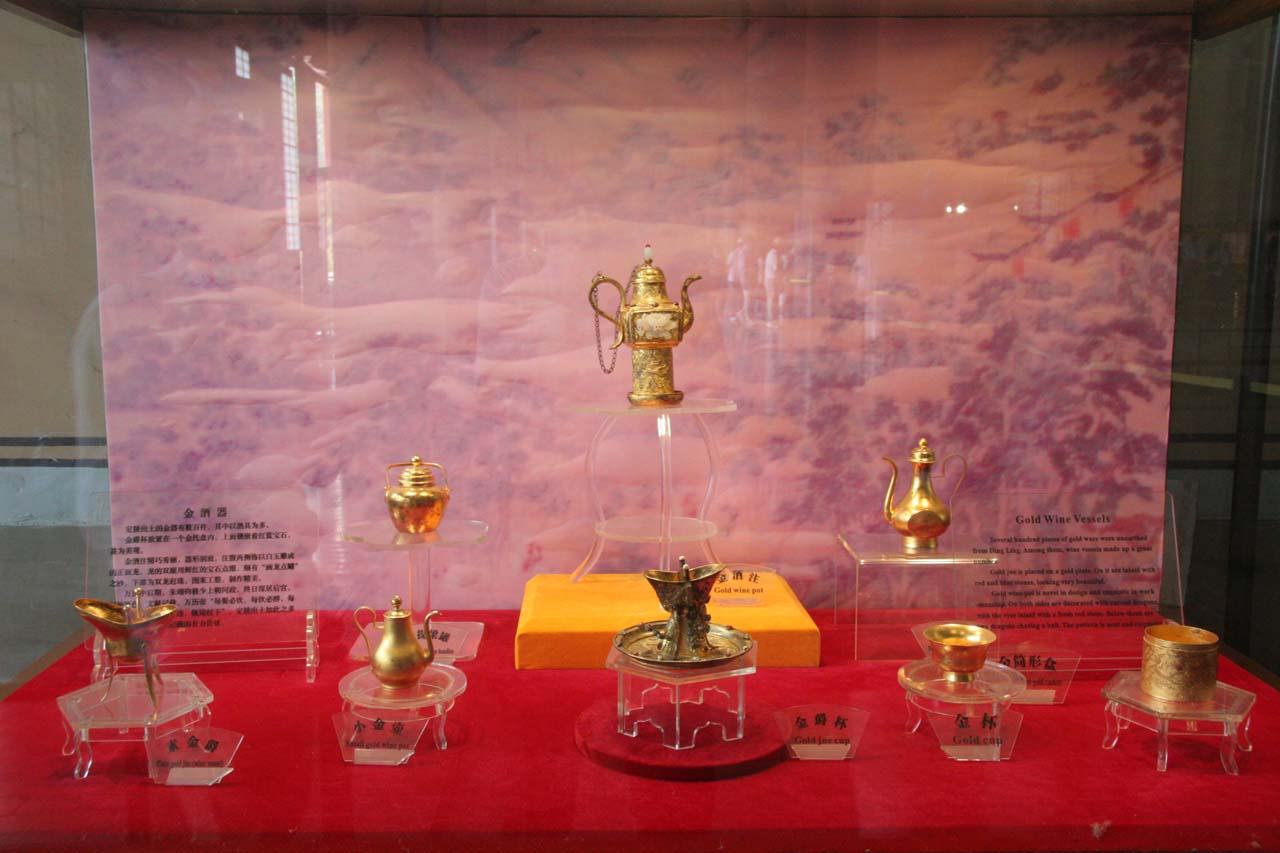 Treasures inside the Ming Tombs