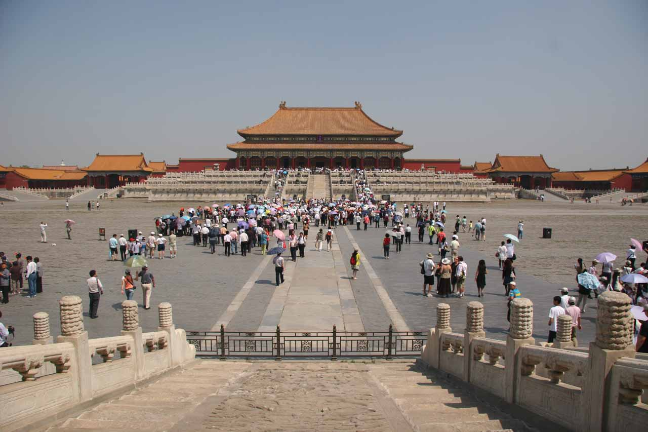 The grandeur of Forbidden City