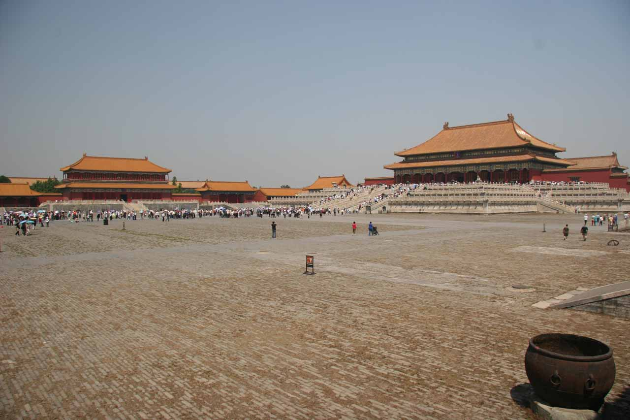 More open space goodness at the Forbidden City