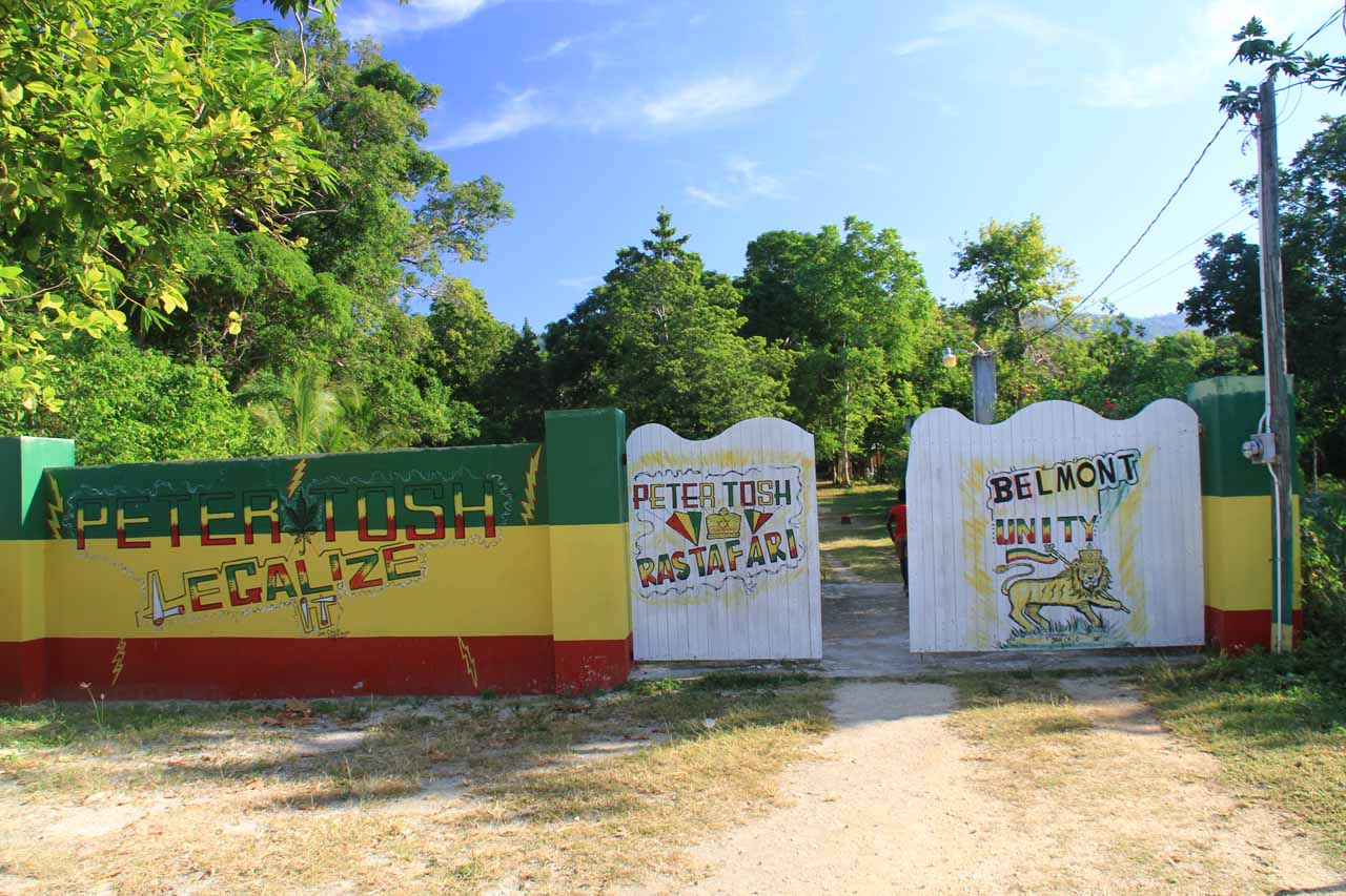 Peter Tosh Resting Place