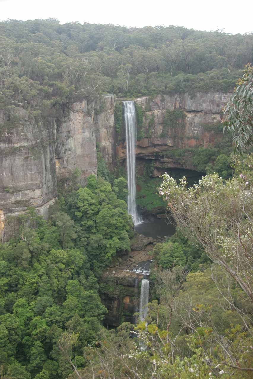 View of Belmore Falls from the other overlook