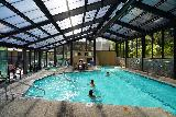 Bend_026_06262021 - The greenhouse-like indoor pool at the Riverhouse on the Deschutes in Bend