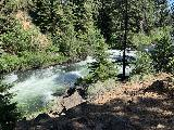 Benham_Falls_020_iPhone_06272021 - Another look across the Benham Falls from the parallel trail closer to the Deschutes River
