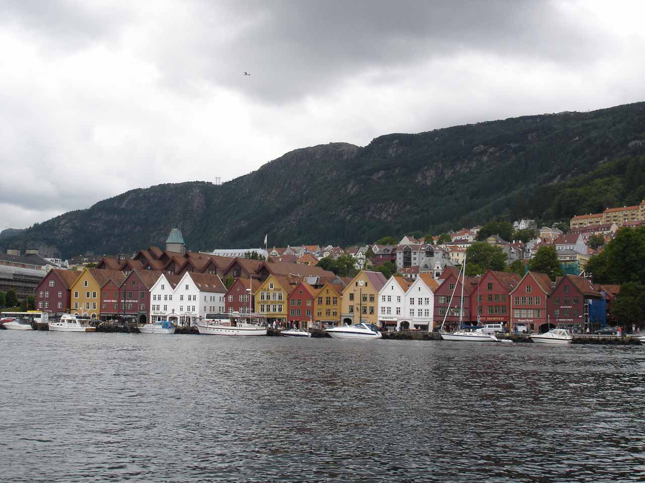 Tvindefossen was just north of Voss, but the city was on a well-traveled route to the northeast of the charming city of Bergen (roughly 90 minutes drive away from Voss)