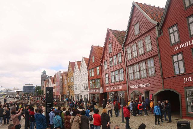 Bergen_023_06262019 - It was about a two-hour drive between Skjervsfossen and the city of Bergen, which was very charming and historical.  It's arguably one of Norway's most engaging cities, especially with places as rich in history as the UNESCO World Heritage Bryggen shown here