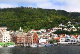Bergen_072_06262019 - Another look across Vagen towards the Bergen Bryggen and the Floibanen