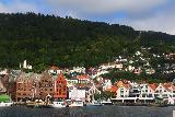 Bergen_091_06262019 - Another look across Vagen towards the Bergen Bryggen and the Floibanen
