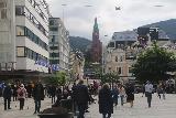 Bergen_130_06262019 - Walking back on the Torgallmenningen en route to Hotel Ole Bull in Bergen