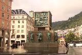 Bergen_140_06262019 - Another look at the familiar Seafarers' Monument at the end of the Torgallmenningen