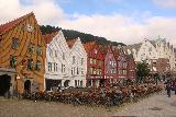 Bergen_175_06262019 - Checking out the famous Bryggen in Bergen after dinner