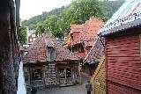 Bergen_231_06262019 - Another look from the upper floor within one of the alleyways of the Bergen Bryggen