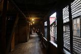 Bergen_232_06262019 - Another look back at the atmospheric upper floor in one of the alleyways of the Bergen Bryggen