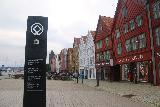 Bergen_297_06262019 - A UNESCO World Heritage sign fronting the Bergen Bryggen