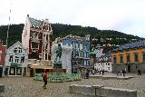 Bergen_329_06262019 - Contextual look across this square opposite the Fisketorget in Bergen