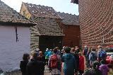 Bergen_366_06272019 - Heading into the historic Hanseatic Quarter on the Bryggen Museum Tour