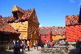Bergen_401_06272019 - Back outside on the backside of the Bryggen's Hanseatic Quarter on the Bryggen Museum Tour