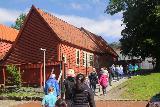 Bergen_414_06272019 - The Bryggen Museum Tour walking towards assembly halls